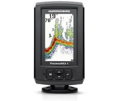 Sondeur couleur Humminbird PIRANHA MAX4 (sonde tableau arrière)